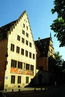 Strasbourg: le musée de l'œuvre Notre Dame
