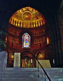 Strasbourg, cathédrale Notre Dame: le chœur