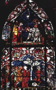 Strasbourg, cathédrale Notre Dame: la nef centrale