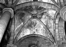 Strasbourg, cathédrale Notre Dame: bras nord du transept: voûte sud-est (vers 1200-1210)