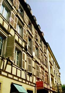 Strasbourg: la Krutenau. Rue Sengenwald. (La maison alsacienne)