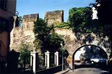 Strasbourg: reste de fortifications du Moyen-âge rue du fossé des Orphelins