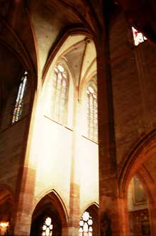 Strasbourg, Saint Pierre le Jeune: la croisée et le transept