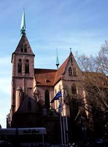 Strasbourg, Saint Pierre le Jeune: Le massif occidental