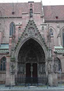 Strasbourg, Saint Pierre le Jeune: le portail sud dit d'Erwin