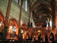 Strasbourg, Saint Pierre le Jeune: la nef et le jubé