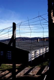 Struthof: une des baraques témoins