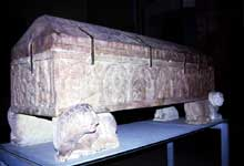 Strasbourg, saint Thomas: le sarcophage d'Adeloch