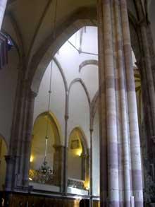 Strasbourg, église saint Thomas: le transept