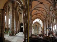 Strasbourg, saint Thomas: l'intérieur de l'église