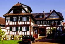 Vendenheim: ancienne ferme de 1782. (La maison alsacienne)