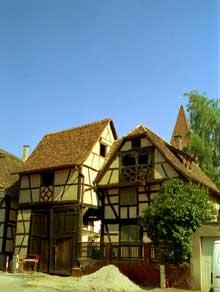 Vendenheim: ferme du XVIIIè. (La maison alsacienne)