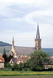Westhoffen: l'église saint Martin