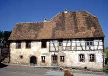 Wimmenau: la maison Scherer. (La maison alsacienne)