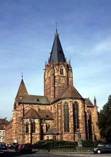 Wissembourg: l'abbatiale saints Pierre-et-Paul