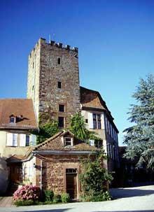 Woerth: le château