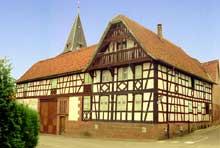Zutzendorf: Superbe ferme «Schini». (La maison alsacienne)