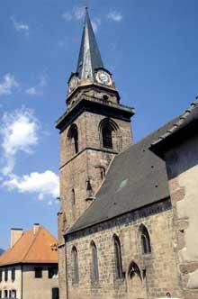 Bergheim: l'église