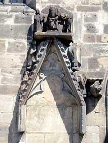 Bergheim: vestiges d'une porte de l'église