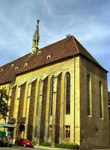 Colmar: l'église des Catherinettes