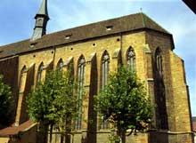 Colmar: l'église des Dominicains