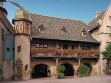 Colmar. (La maison alsacienne)