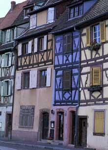 Colmar. Harmonie des couleurs... (La maison alsacienne)