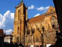 Colmar, saint Martin: vue du flanc sud