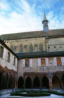 Colmar, les Dominicains: le cloître et l'église