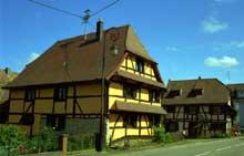 Friesen, dans la vallée de la Largue. (La maison alsacienne)