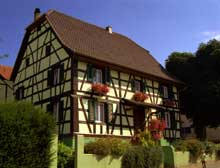 Gommersdorf. (La maison alsacienne)