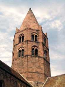 Guebwiller: saint Léger. La tour de croisée