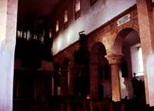 Lautenbach: l'intérieur de l'église Saint Gangolf