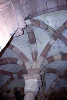 Lautenbach: le porche de l'église
