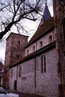 Lautenbach: la tour-porche de l'église