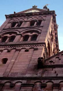 Lautenbach: tour de la façade