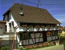 Magstatt le Bas: maison de 1720. (La maison alsacienne)