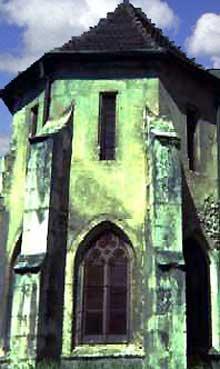 Masevaux: chapelle Notre Dame, accolée au côté sud du chœur de l'abbatiale saint Léger