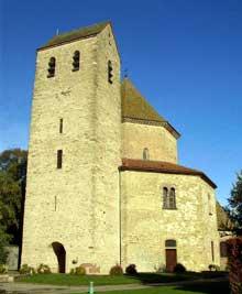 Ottmarsheim: l'octogone et la tour