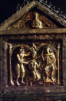 Reiningue: La châsse de Saint Roman