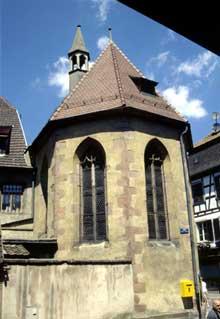 Ribeauvillé: la chapelle sainte Catherine
