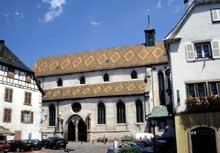 Ribeauvillé: l'église des Augustins