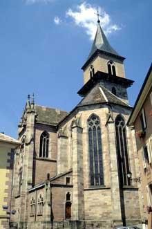 Ribeauvillé: l'église saint Grégoire