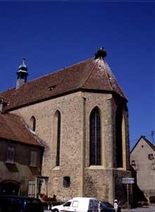 Rouffach: l'église des Récollets (Franciscains)