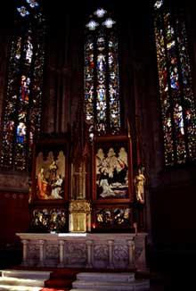 Rouffach: Notre Dame de l'Assomption: le chœu