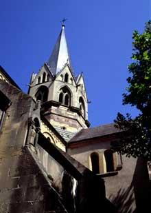 Rouffach: Notre Dame de l'Assomption: la tour de croisée