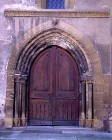 Rouffach: Notre Dame de l'Assomption: portail Nord