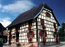 Maison Sundgauvienne, Franken. (La maison alsacienne)