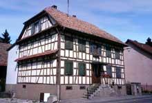 Maison alsacienne de Seppois le Bas. (La maison alsacienne)