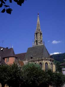 Thann : collégiale Saint Thiébau